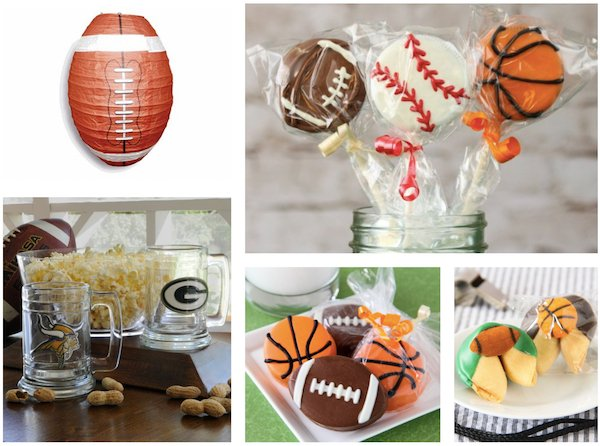 Football Party Favors and Decor