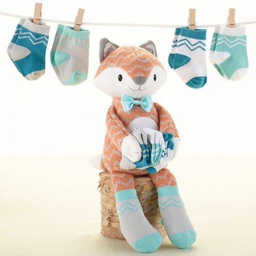 Fox in Socks Baby Shower Gift Set