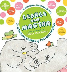 George and Martha, by James Marshall