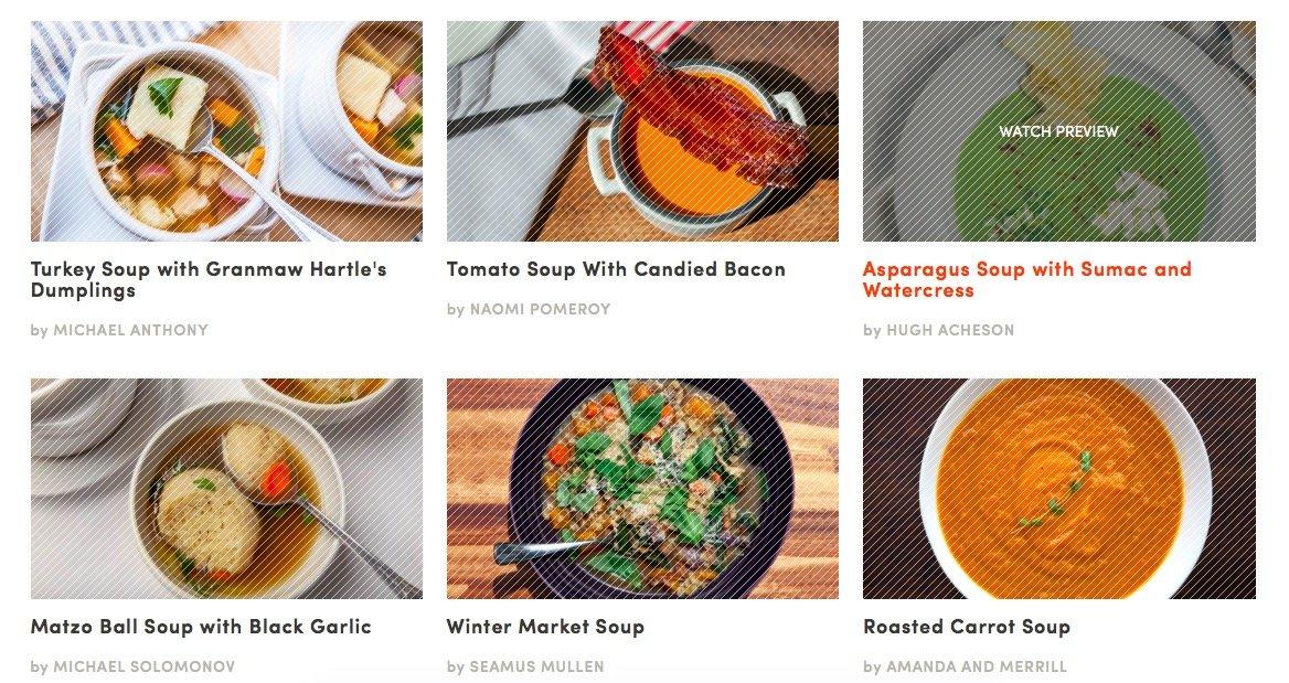 Master Chef Soup Recipes