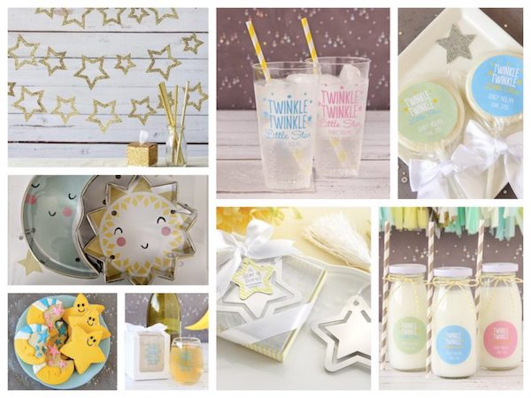 Twinkle Twinkle Little Star Party Favors & Decor