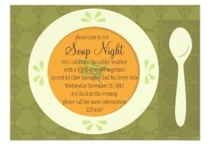 Soup Night Invite