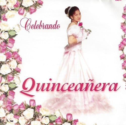 Celebrando quinceanera ceremony celebration