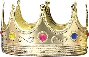 Jeweled Purim Crown