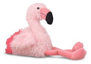 Melissa & Doug Scarlet Flamingo Stuffed Animal, Valentines Day Stocking Stuffers