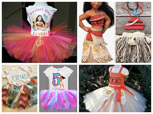 Moana Birthday Party Outfits