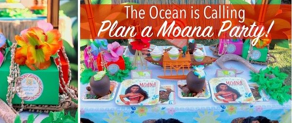 Moana Birthday Party Planning Ideas and Supplies