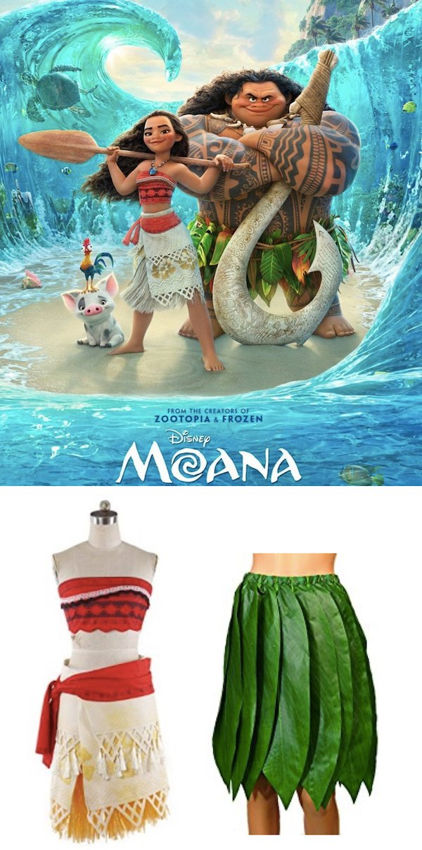 Moana Costume Ideas