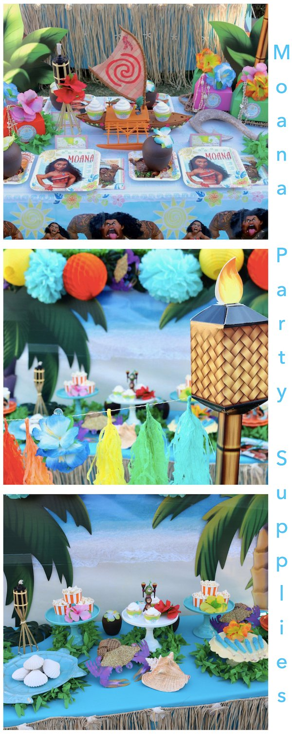 Moana Birthday Party Planning Ideas Supplies