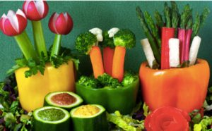 We Highly Recommend Serving Lots Of Fruits Vegetables In Festive Presentations Think Fruit Kabobs And Everything That You Can Cutting Using