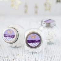 Personalized Classic Mini Candy Jars
