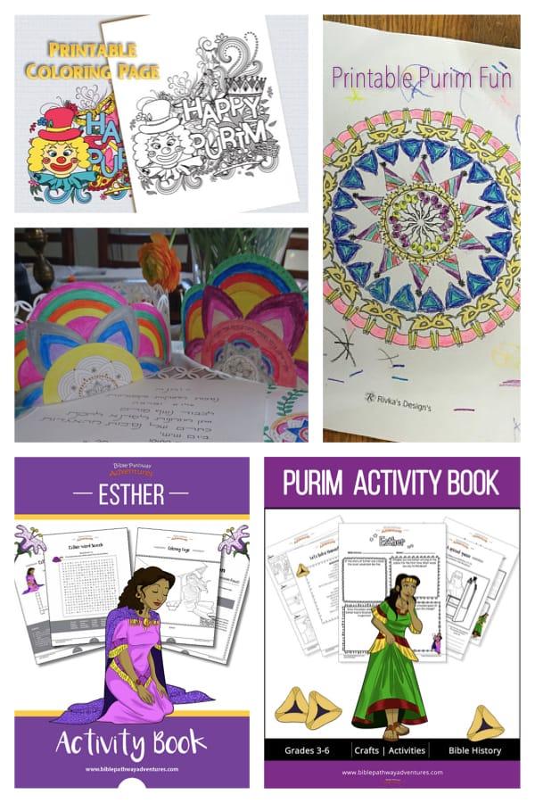 Printable Purim Activities