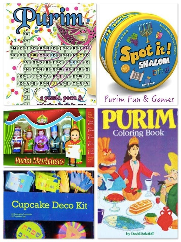 Purim Games and Activities
