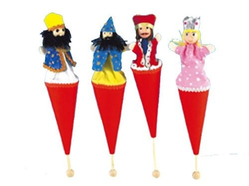 Purim Pop-Up Puppets