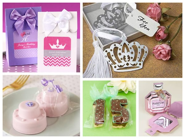 Sweet 15 Quinceanera Party Favors