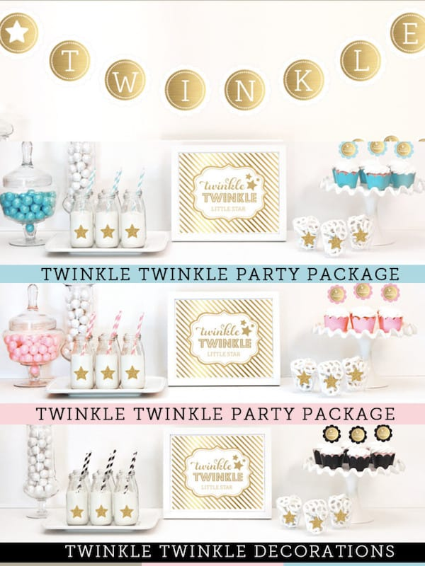 Twinkle Twinkle Little Star Party Theme Planning Ideas