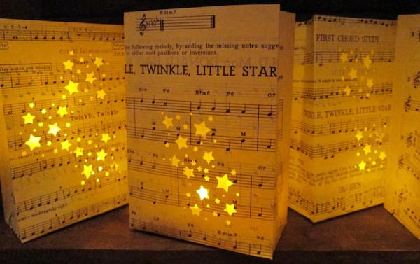 Twinkle Twinkle Little Star Luminary Bags