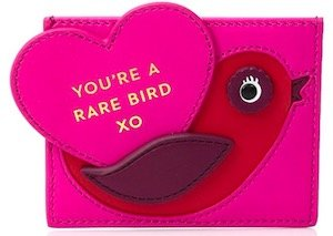 kate spade new york Be Mine Bird Credit Card Holder