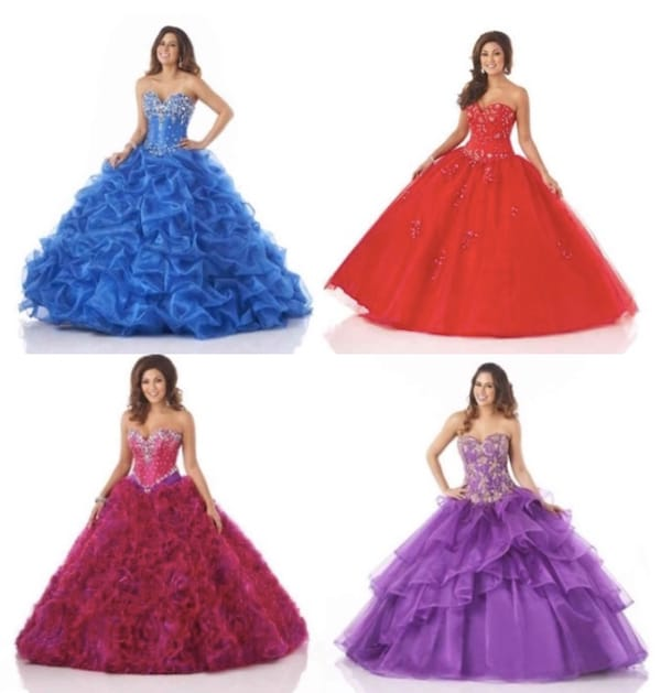 Quinceanera dresses ball gowns