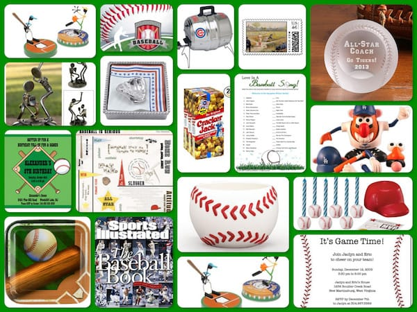 Take Me Out to the Ballgame Baseball Theme Party Planning, Ideas, and Supplies