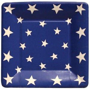 Blue Stars Plate
