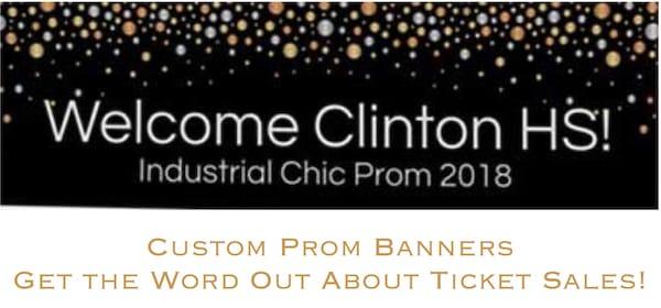 Custom Prom Banners