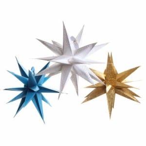 Geometrical Star Lanterns