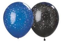 Glitter Stars Balloons