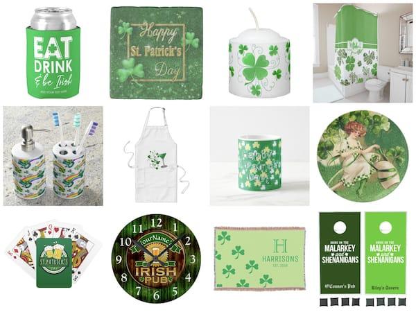 Irish and St Patricks Day Home Decor