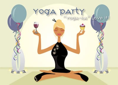 Ladies Yoga Night Theme Party Planning, Ideas, and Supplies