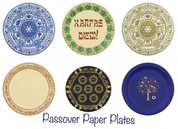 Passover Paper Plates