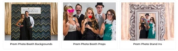 Prom Photo Booth Ideas