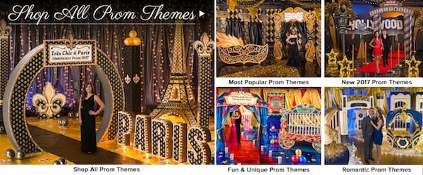 Prom Themes