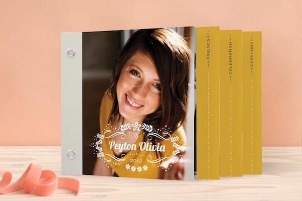 Unique Graduation Announcements >> Minted's Reflections MiniBook