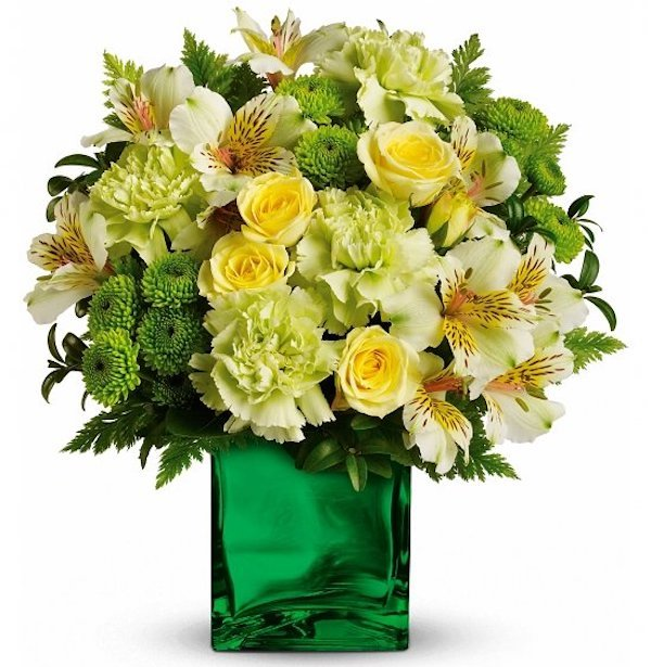 St Patricks Day Emerald Elegance Flowers