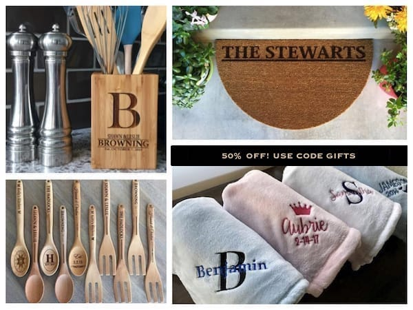 Stock Up on Unique Personalized Gifts