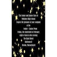 Twinkle Star Invitations