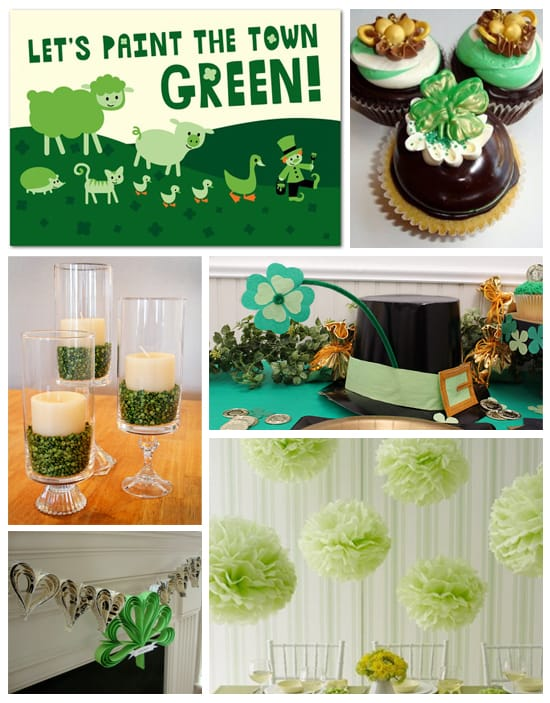 St Patrick's Day Party Planning, Ideas, and Supplies