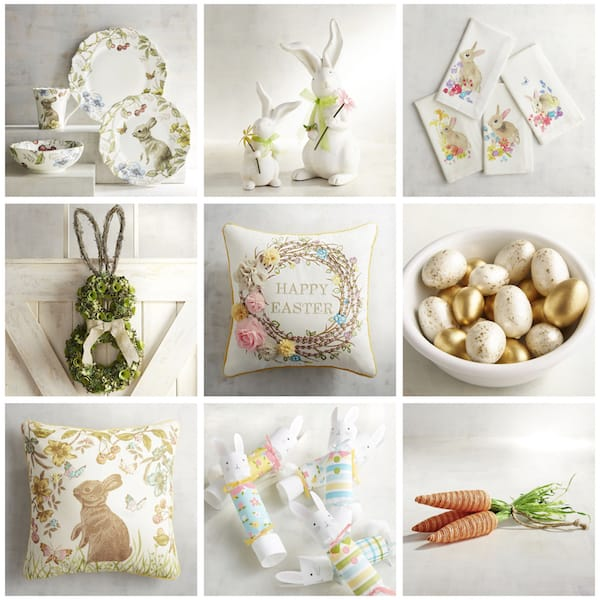 Decorating with Easter Bunnies >> Think Beyond the Plush