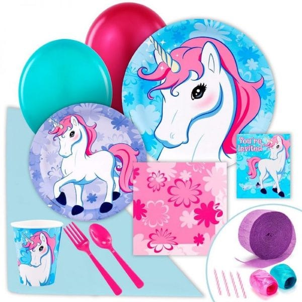 Enchanted Unicorn Theme Party Pack