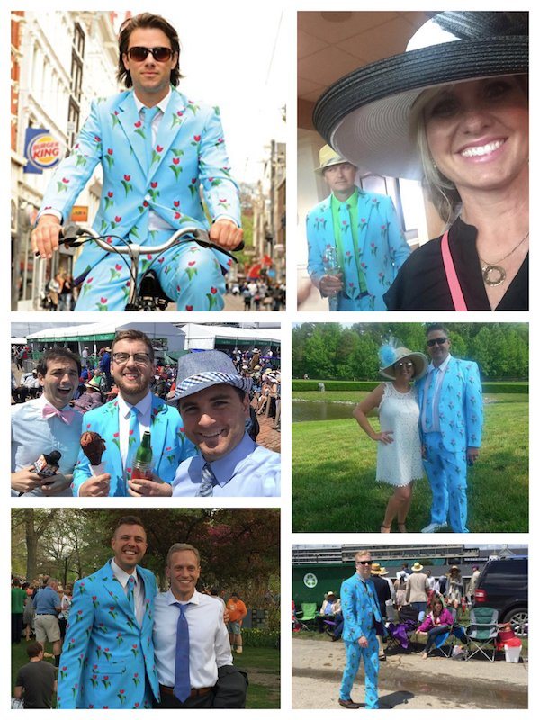 Tulip Suit Seen at Kentucky Derby 143
