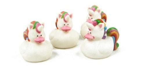 Unicorn Rubber Duckies, Unicorn Party Favors