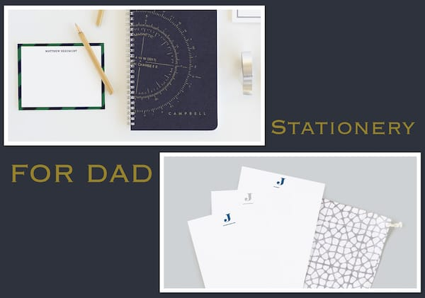Stationery for Dad