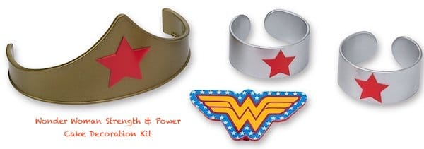 Wonder Woman Strength & Power Cake Decoration Kit