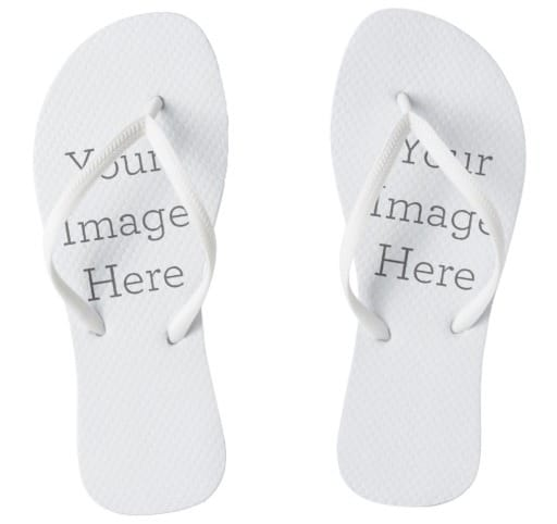 Create Your Own Pair of Wedding Flip Flops