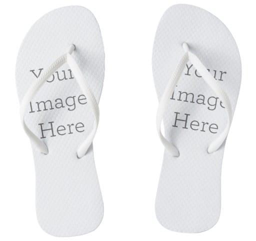 Create Your Own Pair of Wedding Flip Flops