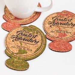 Globe Shaped Coasters