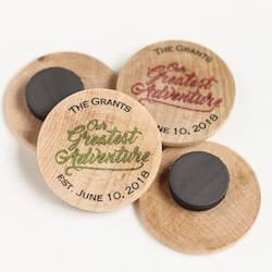 Greatest Adventure Wooden Magnets