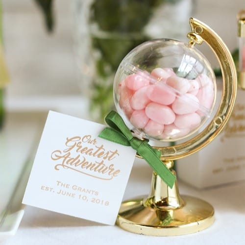 Mini Globe Party Favors