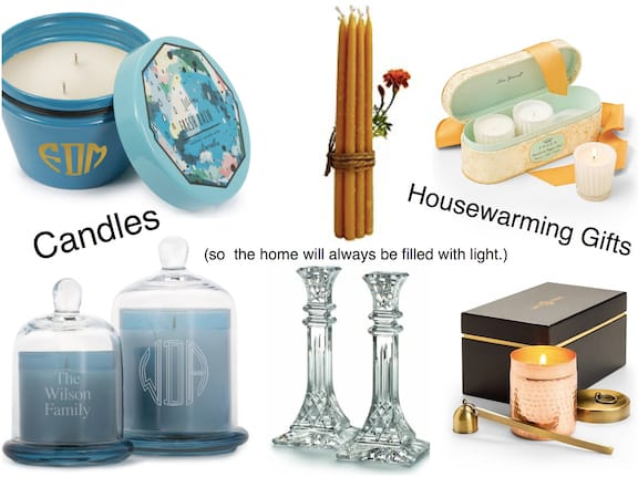 Candles Housewarming Gifts, Housewarming Party Gifts with Special Meaning